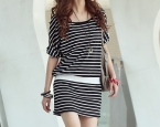 Маркет | Obaldet | PRE-ORDER *Casual Pattern Short Sleeve Stripe*